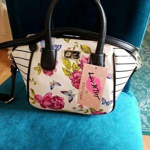 Betsey Johnson Bags - Flash sale Betsey Johnson butterfly med satchel